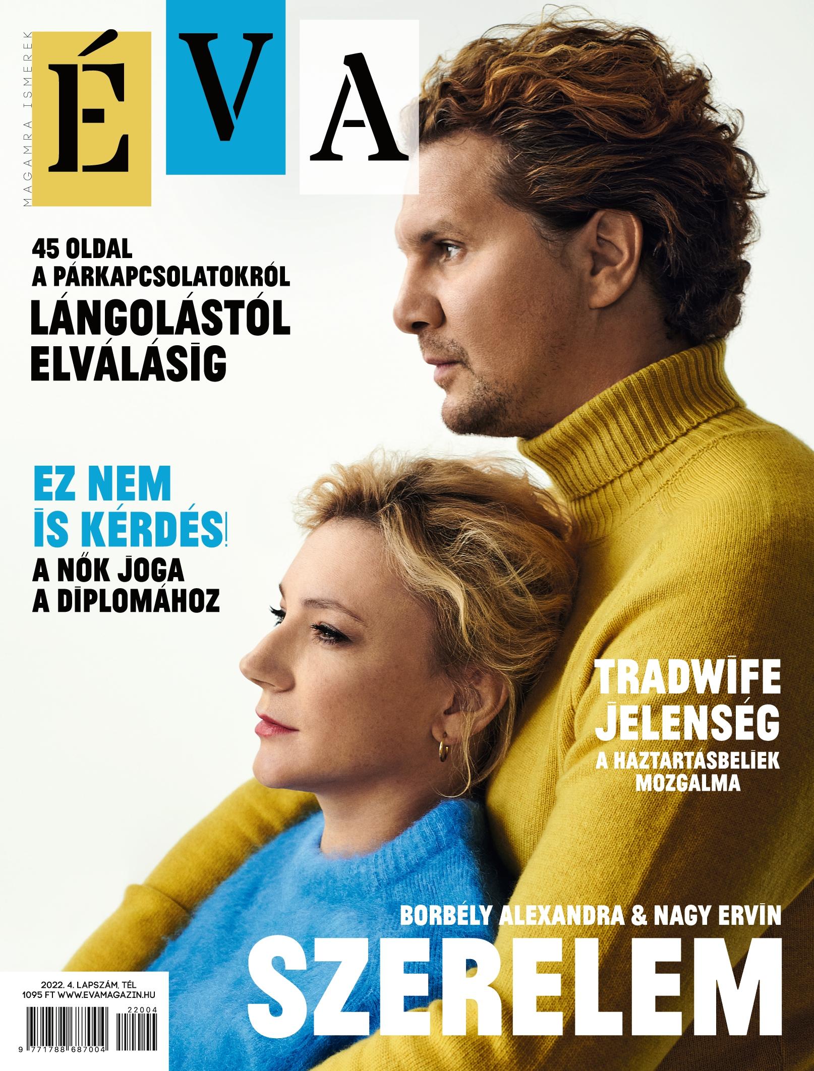 Megjelent az Éva Magazin májusi száma!